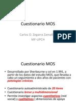 Cuestionario MOS