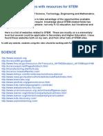 Websites for STEM Education