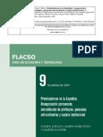 Privatizaciones en La Argentina AZPIAZU - ForCINITO - SCHORR