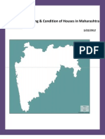 Housing and Condition of Houses,Maharashtra.