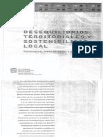 Carrizosa U. Julio (2006) Desequilibrio Territoriales