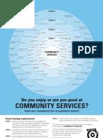 Community Services Bullseye Chart