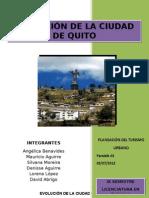 EVOLUCIÓN DE LA CIUDAD DE QUITO (1)
