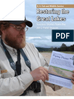 Great Lakes Restoration Initiative Success 2012 Book FWS