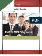 Equity News Letter 25jan2012