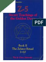 pat zalewski secret teachings of the golden dawn Vol 2