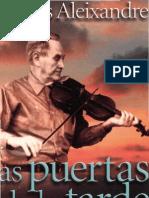 Aleixandre, Dolores - Las Puertas de La Tarde[1]
