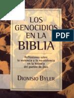 Byler Dionisio - Los Genocidios en La Biblia