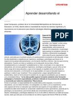 Neurodidactica Aprender Desarrollando Cerebro