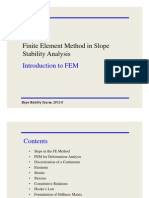 [0] FEM in Slope Stability Analysis