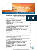 Global News - Pilot Test on ICD10 by WHO-FIC-IFHIMA in Indonesia (See page 11)