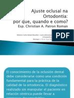 Ajuste Oclusal Na Ortodontia