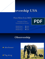 Usce Observerships Medical School Hospital