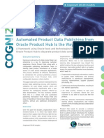 Automated Product Data Publishing from Oracle Product Hub Is the Way Forward