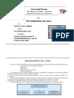 Pretrataminto Del Acero - Monografia