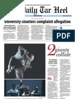 The Daily Tar Heel for January 25, 2013