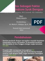 Obesitas Sebagai Faktor Resiko Sindrom Syok Dengue Diany