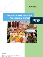 Food and Beverage Industry - South Africa