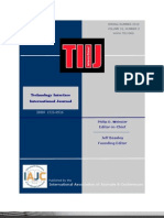 Technology Interface International Journal (TIIJ)