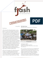 Ffrash Sponsor Newsletter Jan. 2013