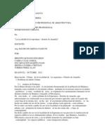 UNIVERSIDAD de HUANUCO Analisis de Intervencion