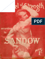 "Gospel Of Strength ""Eugen Sandow""."