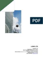Lonix Profile Web