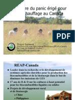 La culture du panic raide pour le biochauffage au Canada