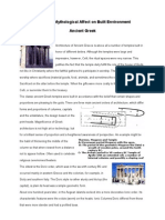 Architecture from ancient Greek till Gothic