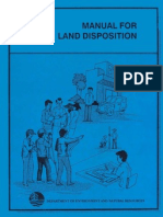 Manual for Land Disposition