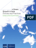 Low-Carbon Green Growth in Asia