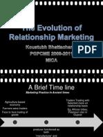 evolution of relationship marketing