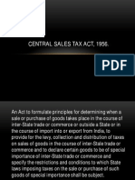 Central Sales Tax Act