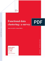 Functional Data Clustering a Survey