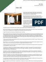 Balancing Act. The Other Side, Nimesh Kampani,Chairman, JM Financial