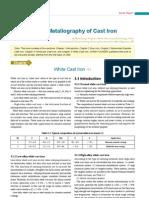 Colour Metallography of Cast Iron