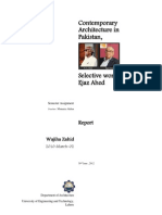 Life and work of Architect Ejaz Ahed