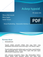 Askep typoid ppt