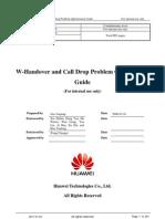 W-Handover and Call Drop Problem Optimization Guide-20081223-A-31 3