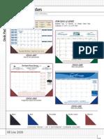 Desk Pads Calendars