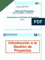 Administración de proyectos (0) PMBOX