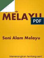 Seni Alam Melayu(Lukisan Gua dan Artifak)