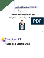 Fluid Electrolyte and acid base balance