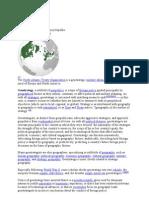 Geostrategy - wiki