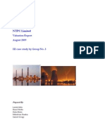 Valuation Report of Power Generation Company