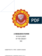 Nursing reasearch papers