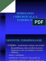 semiologia tumorilor