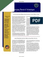 Emerging Threats & Technologies FBI
