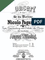 Paganini Violin Concert