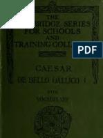 Cesar, De Bello Gallico